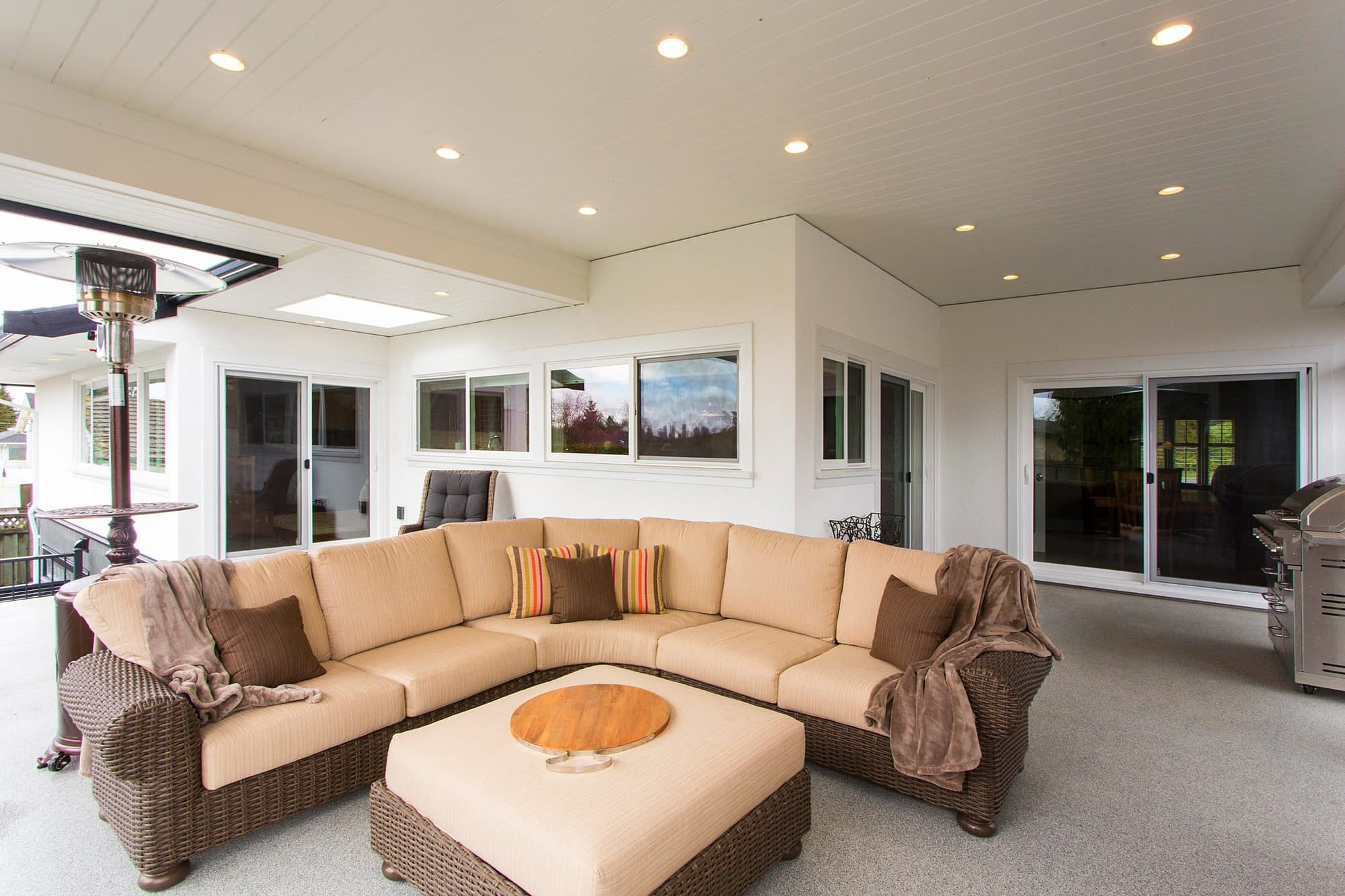 Burnaby Outdoor Renovation Extension | Kennedy Construction Team