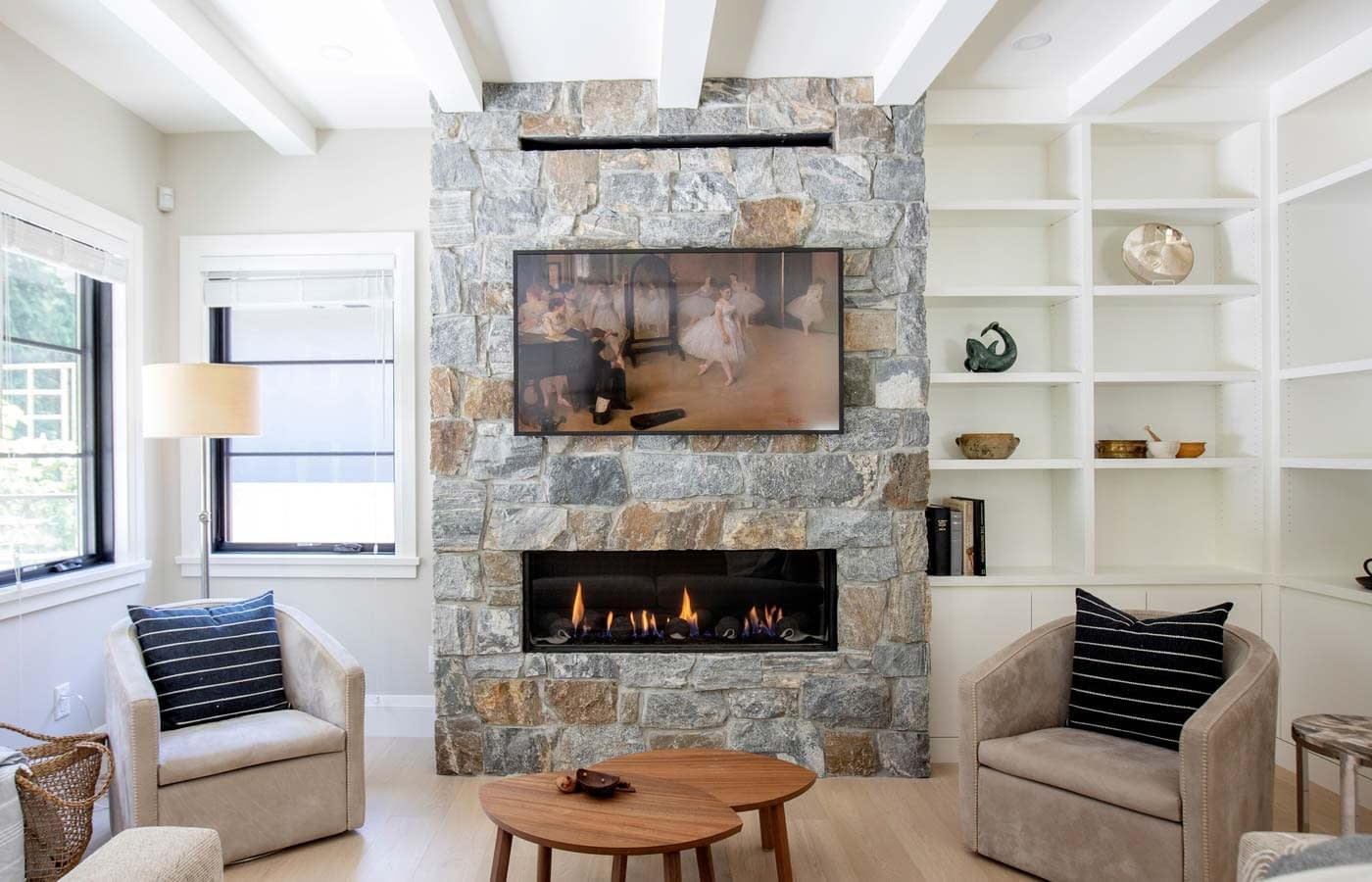 North Shore Fireplace Home Renovation