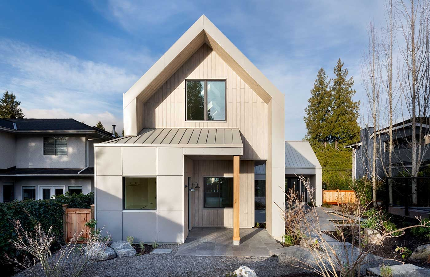 Modern Farmhouse Construction, North Vancouver Best Construction Projects